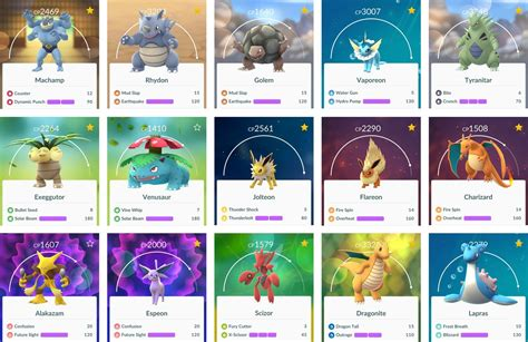 Best Pokmon To Evolve Tm And Power Up To Beat Raid