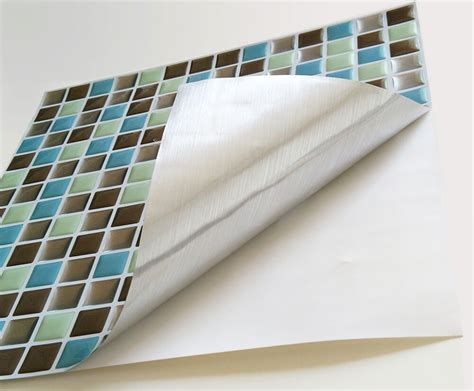 Peel And Stick Tiles by Peel And Stick Tile Backsplash For Kitchen Wall Mosaic