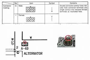 Pajero Alternator Wiring Diagram