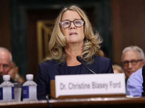 kavanaugh accuser dr christine blasey ford speaks