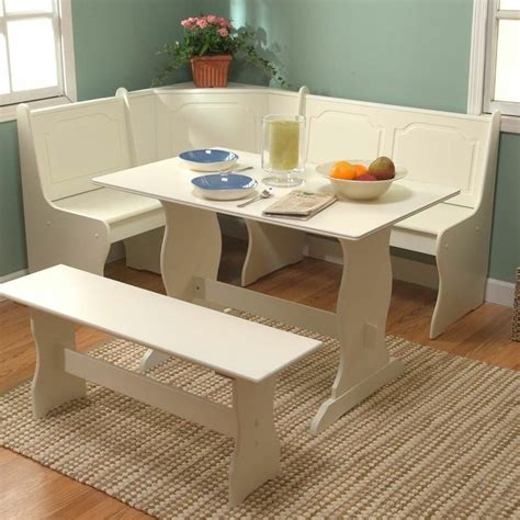 corner bench dining table set white corner dining set breakfast nook bench table kitchen