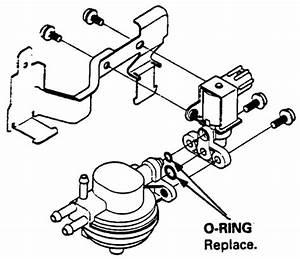 2000 Honda Accord Evap Canister Vent Shut Valve