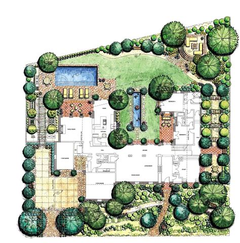 landscap plan landscape design drawing software garden post