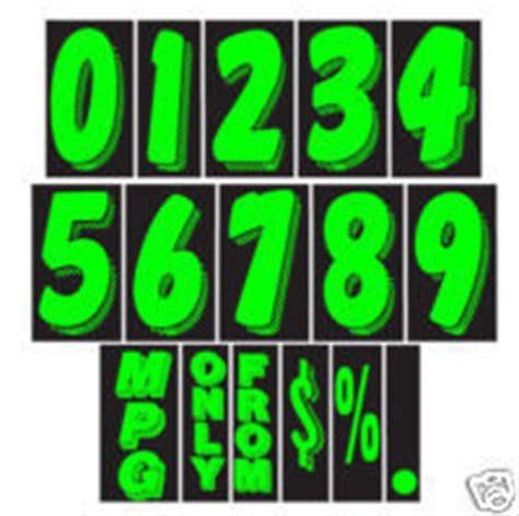 windshield numbers car dealer stickers auto dealer supplies
