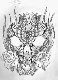 Tattoo Sketch A Day: Insects December 8th - 14th | Butterflies, Moths, Bees & Various Creepy