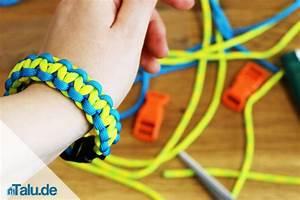 Armbänder Knüpfen Anleitung : paracord armband selber machen diy anleitung zum flechten ~ Frokenaadalensverden.com Haus und Dekorationen