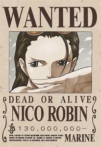 Image - Nico Robin's Current Wanted Poster.png | One Piece ...