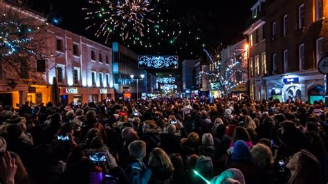 chelmsford christmas lights heart essex