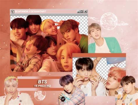 pack png  bts map   soul persona