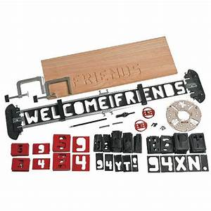 craftsman 66581 sign pro router kit sears outlet With router lettering kit