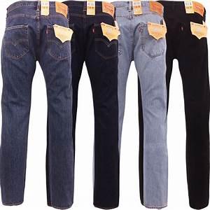Jean Levis 501 Homme : levi 501 jeans mens levi 39 s strauss denim straight fit ~ Melissatoandfro.com Idées de Décoration