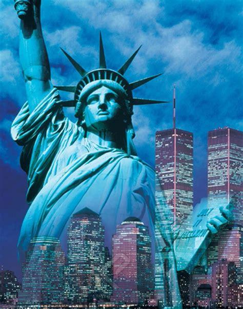 york statue  liberty affiche dart chez eurographics