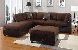diana dark brown leather sectional sofa set sofa With sectional sofa set up
