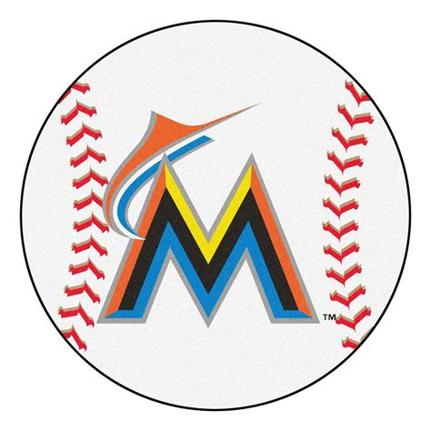 kitchen faucets atlanta fanmats mlb miami marlins white 2 ft 3 in x 2 ft 3 in