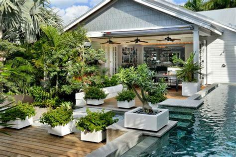 modern garden design examples planters  accent houzz home