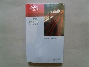 2019 New Toyota Rav4 Hybrid Owners Manual    Factory Sealed