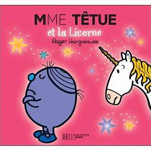 Monsieur Madame - Livre paillettes - Madame tetue et la licorne - Collectif - broché - Achat