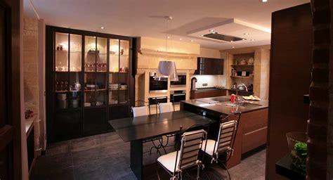 cuisine style industrielle réalisation cuisines lancelin fils cuisiniste caen