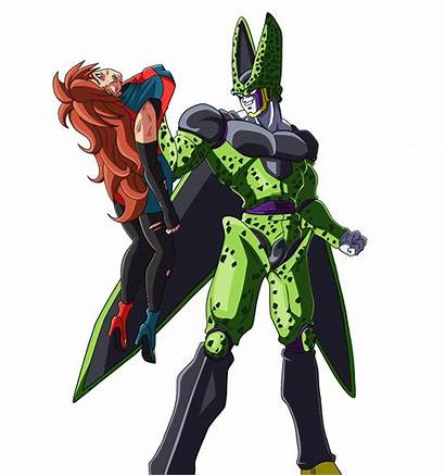 Cell Android Perfect Fighterz Deviantart Anime Deviant