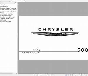 Chrysler 300 300c 2011-2019 Service Manuals