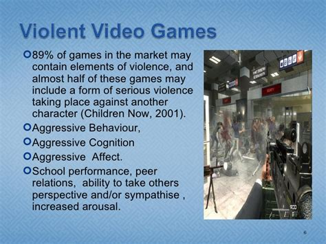 violent video games     fuss