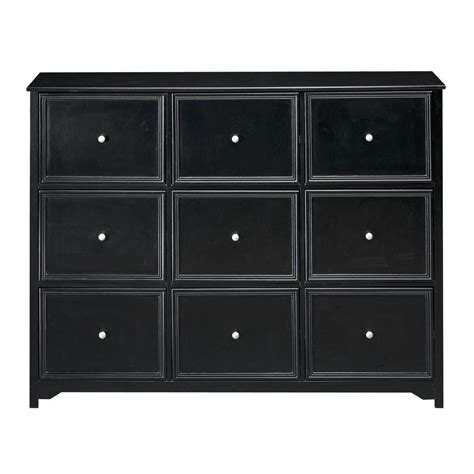 9 drawer file cabinet home decorators collection oxford black 9 drawer chest