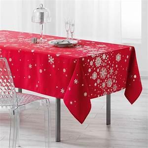 Nappe De Table Rectangulaire : nappe rectangulaire 240 cm constellation rouge linge de table eminza ~ Teatrodelosmanantiales.com Idées de Décoration