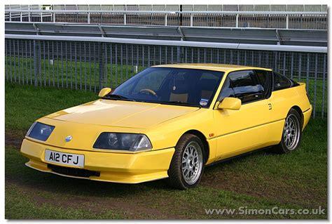 renault alpine gta simon cars renault alpine
