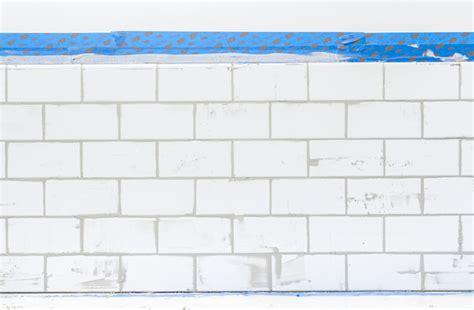 builder direct tile a white subway tile backsplash story green diy