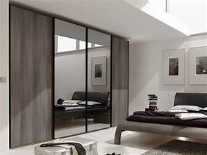 Marcato 300cm Hinged Door Wardrobe With Wood And Glass