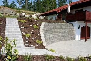 amenager son jardin en pente conseils pratiques et With amenagement exterieur maison moderne 9 mur gabion dans le jardin moderne un joli element fonctionnel