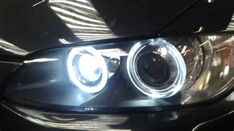 80w cree led bmw e92 eye bulbs