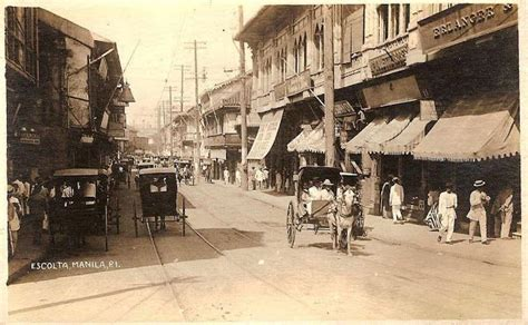 Best Images About Old Escolta. Manila. On Pinterest