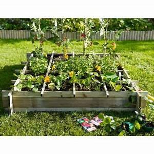 Jardiniere Avec Treillis Carrefour : carr potager 100 x 100 cm castorama ~ Dailycaller-alerts.com Idées de Décoration