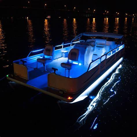 Boat Lights by Overtons 24 Flex Track Led Light Kit For Pontoon Boats