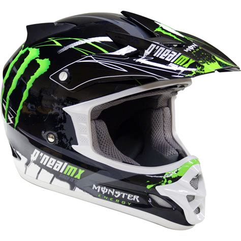 motocross crash helmets oneal 709r tim ferry replica monster energy mx enduro