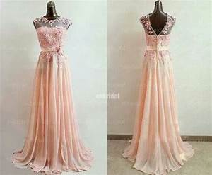 Beautiful peach colored bridesmaids dress by Sposa wedding ...