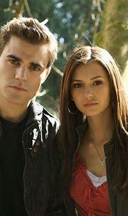 the vampire diaries elena and stefan   ... dobrev the ...