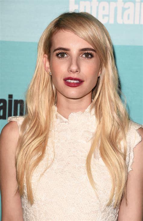 Emma Roberts Long Wavy Cut - Long Hairstyles Lookbook ...