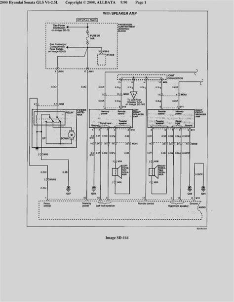 2003 hyundai sonata radio wiring diagram sle wiring diagram sle