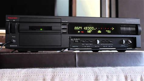 nakamichi cassette deck 1 5 demo youtube