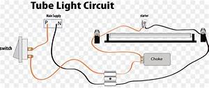 Fluorescent Light Wiring Schematic