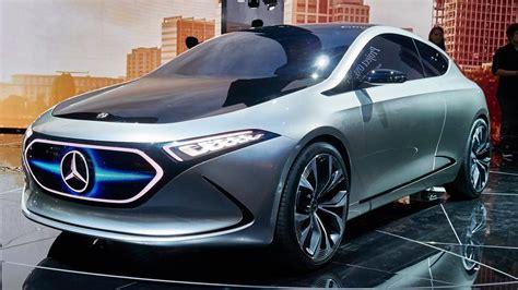 mercedes eqa concept   bhp electric hatch top