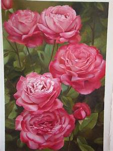 15 Beautiful And Realistic Flower Paintings