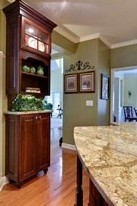 1000 ideas about cherry wood floors on pinterest cherry With kitchen cabinets lowes with green and brown wall art