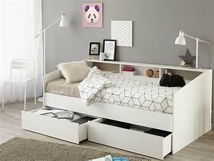 Jugendbett Mit Stauraum : stauraumbett 90 x 200 cm sleep 1 sb m bel discount ~ Watch28wear.com Haus und Dekorationen