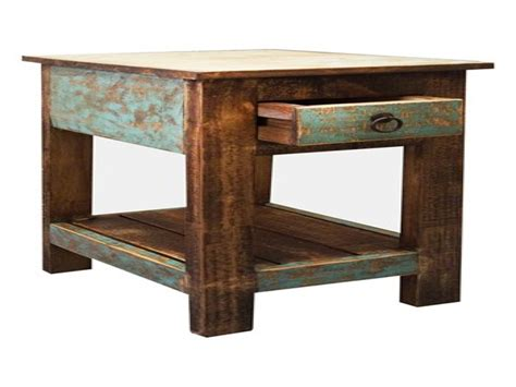 small rustic kitchen table rustic end table small rustic side table small side