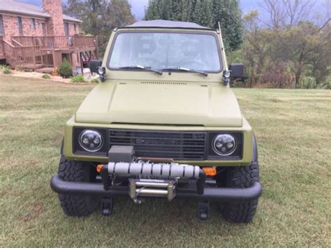 Suzuki Rhino by 1986 Suzuki Samurai 4 X 4 Whole Wheels Rhino
