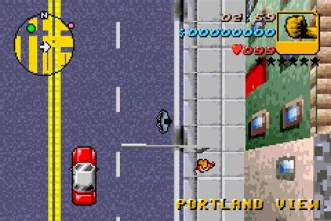 grand theft auto advance  game gamefabrique