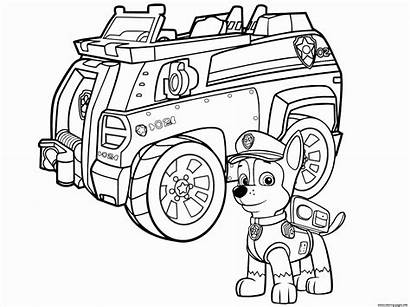 Coloring Pages Suv Police Printable Cop Getcolorings